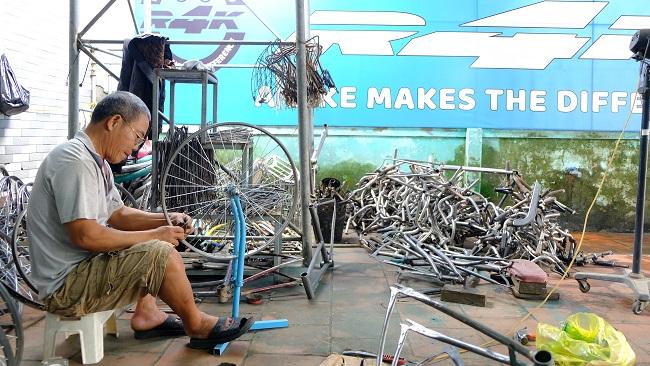 Hành trình hồi sinh những chiếc xe đạp cũ 3